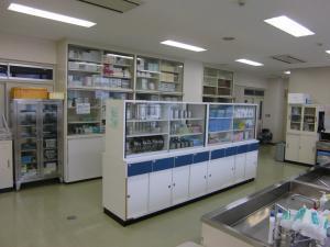基礎看護学の実習室
