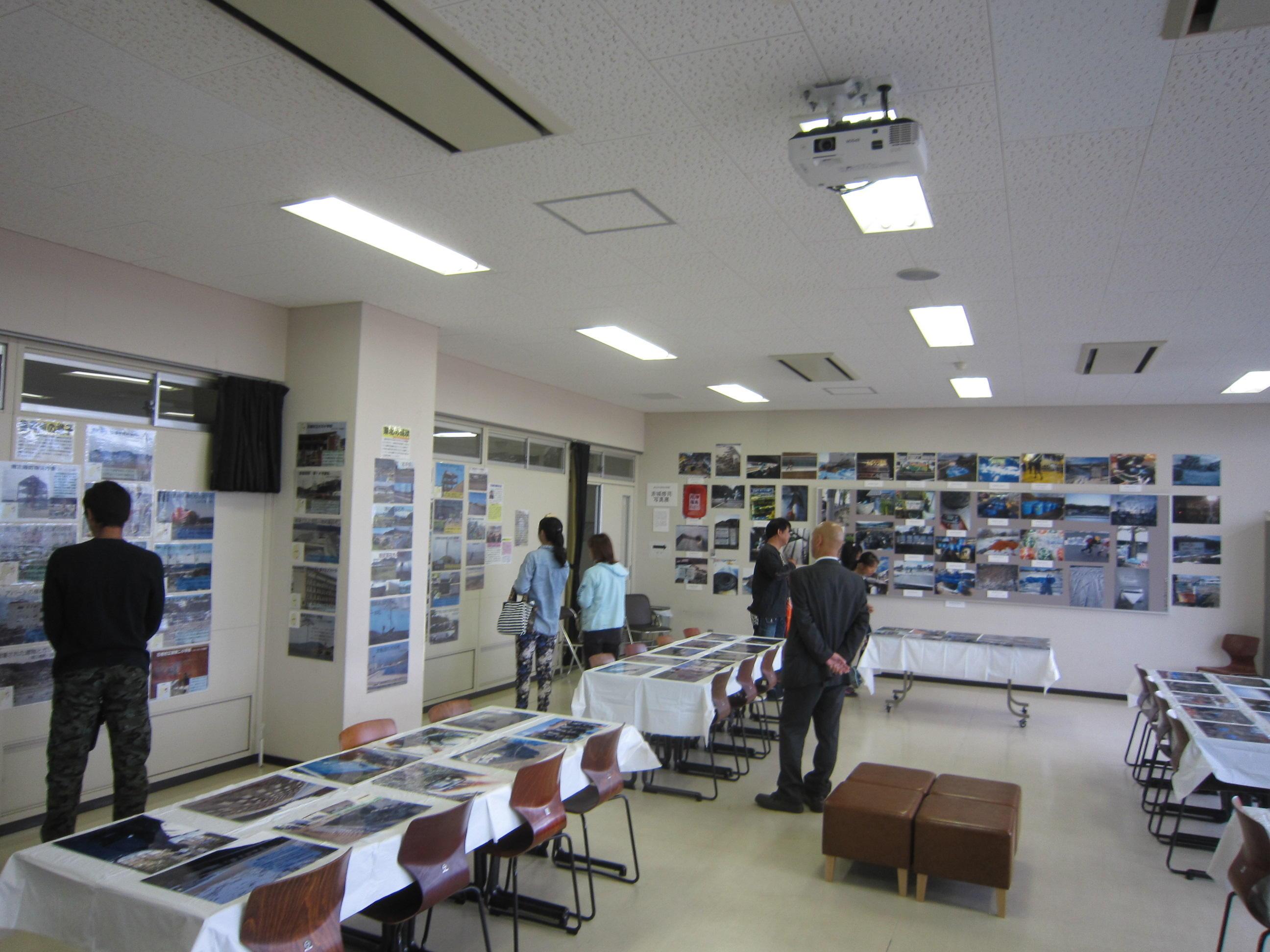 展示の写真