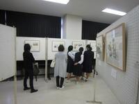長野ヒデ子絵本絵原画展の写真